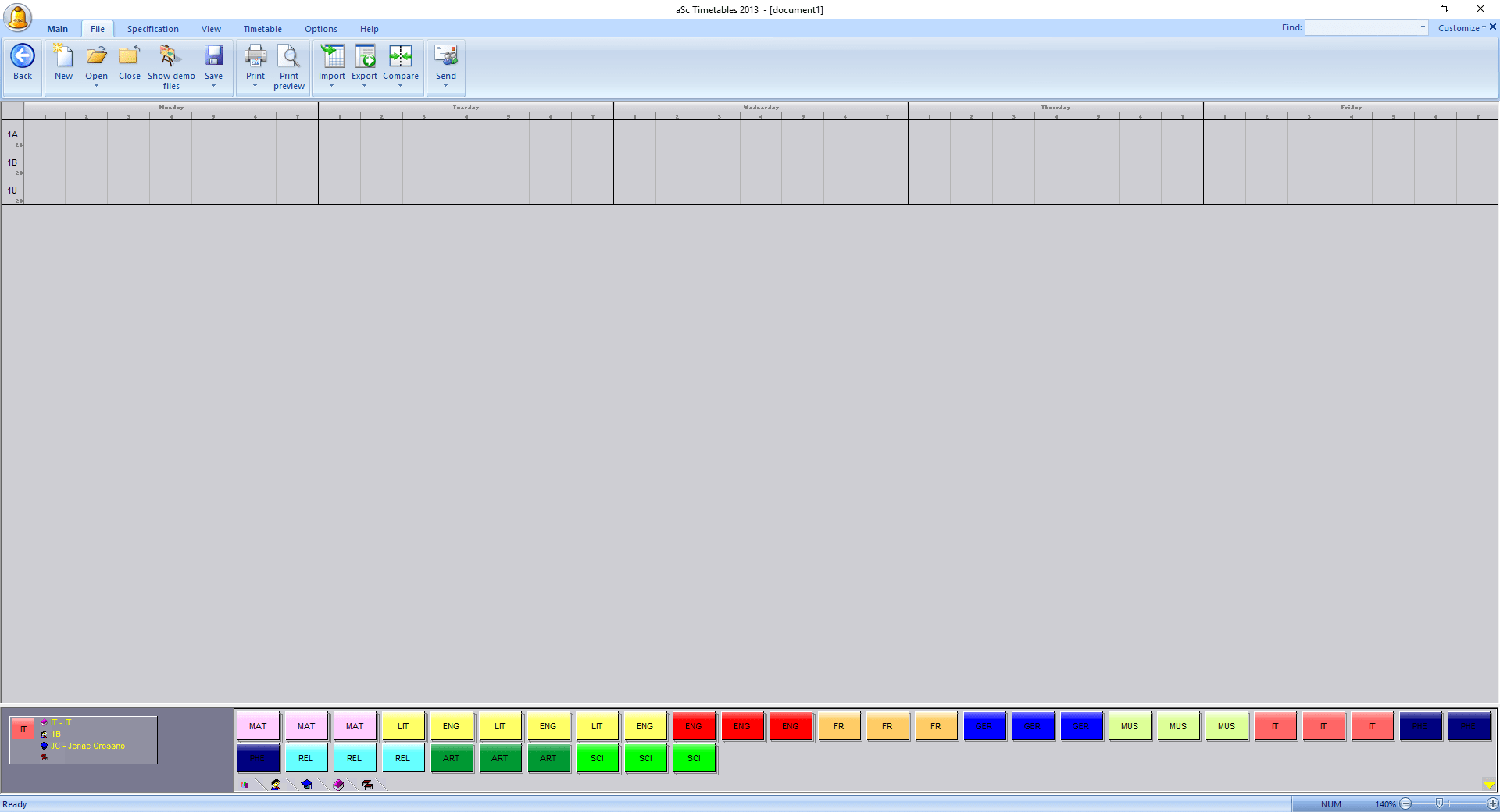How to create a timetable in aSc TimeTables and import it to