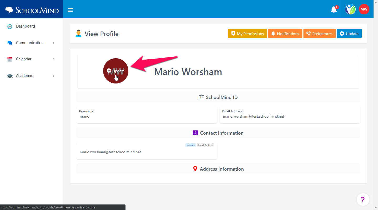 How can I add or change my profile picture? – SchoolMind